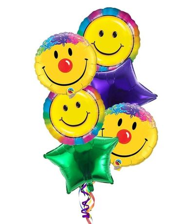 Smiley Balloon Bouquet Custom product