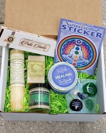 Healing Intention Set Gift Basket