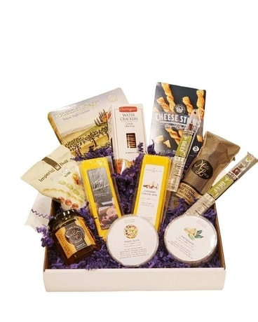 Classic Cheese and Crackers Gift Basket