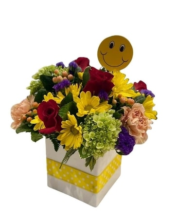 Colorful Get Well Flowers Flower Arrangement