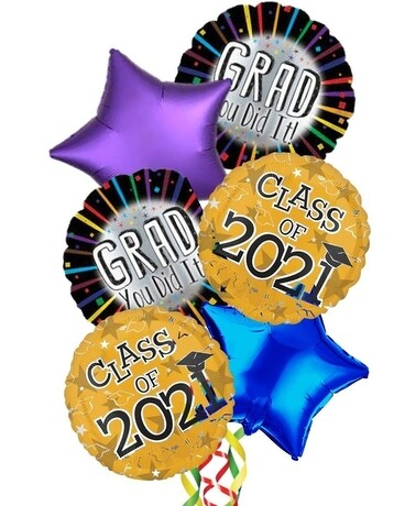Graduation Balloons Gifts