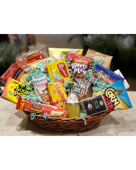 Ultimate Snack Basket Gift Basket