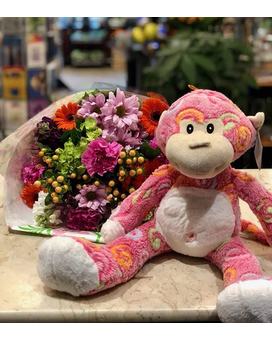 Monkey and Blooms Gifts
