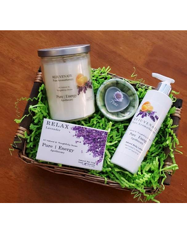 Pure Energy Apothecary Basket Gift Basket