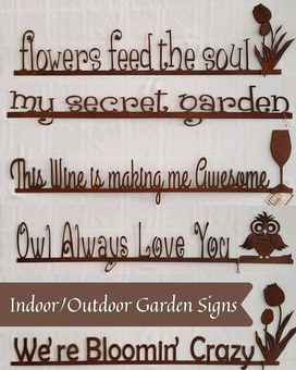 Indoor/Outdoor Garden Signs Gifts