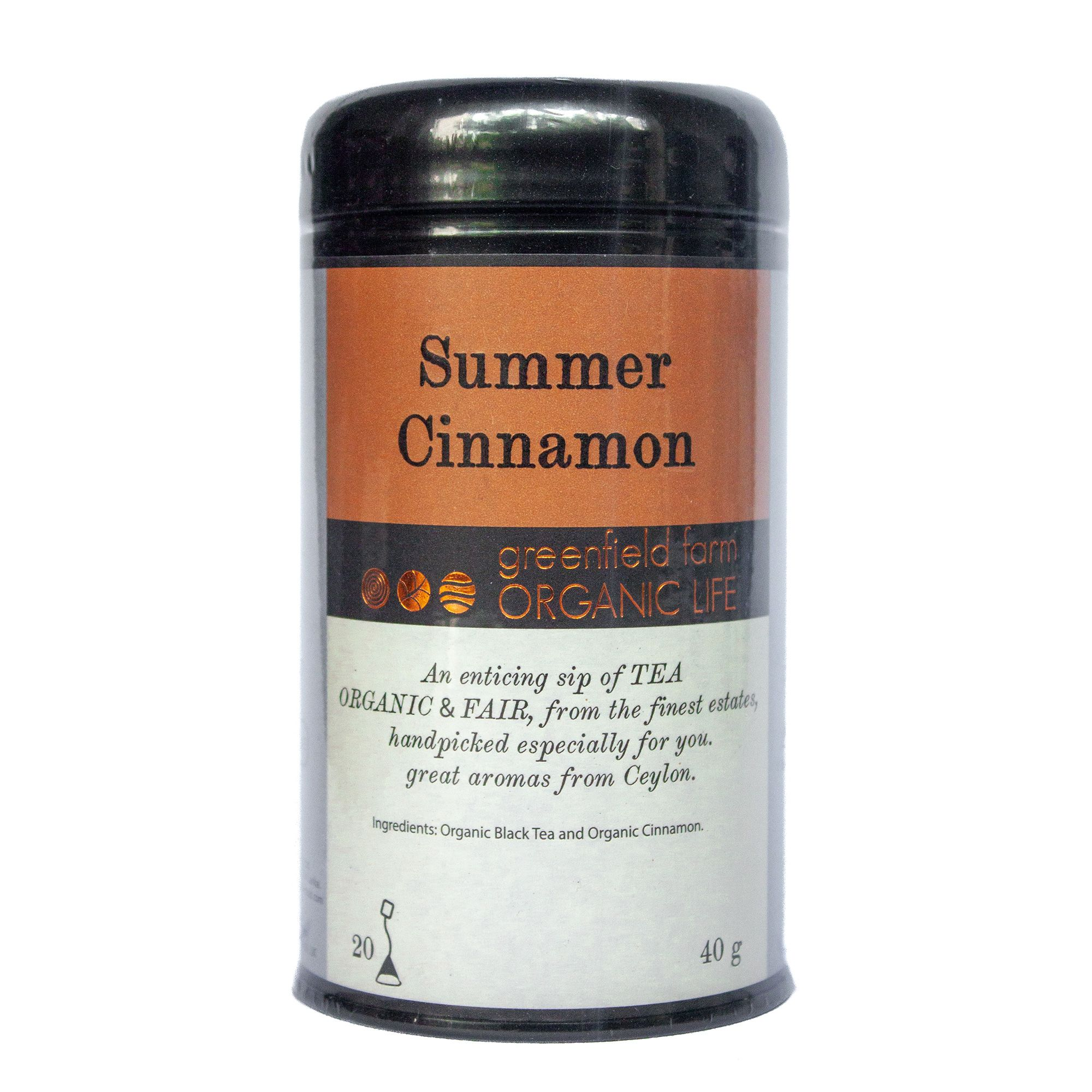 Summer Cinnamon Tea