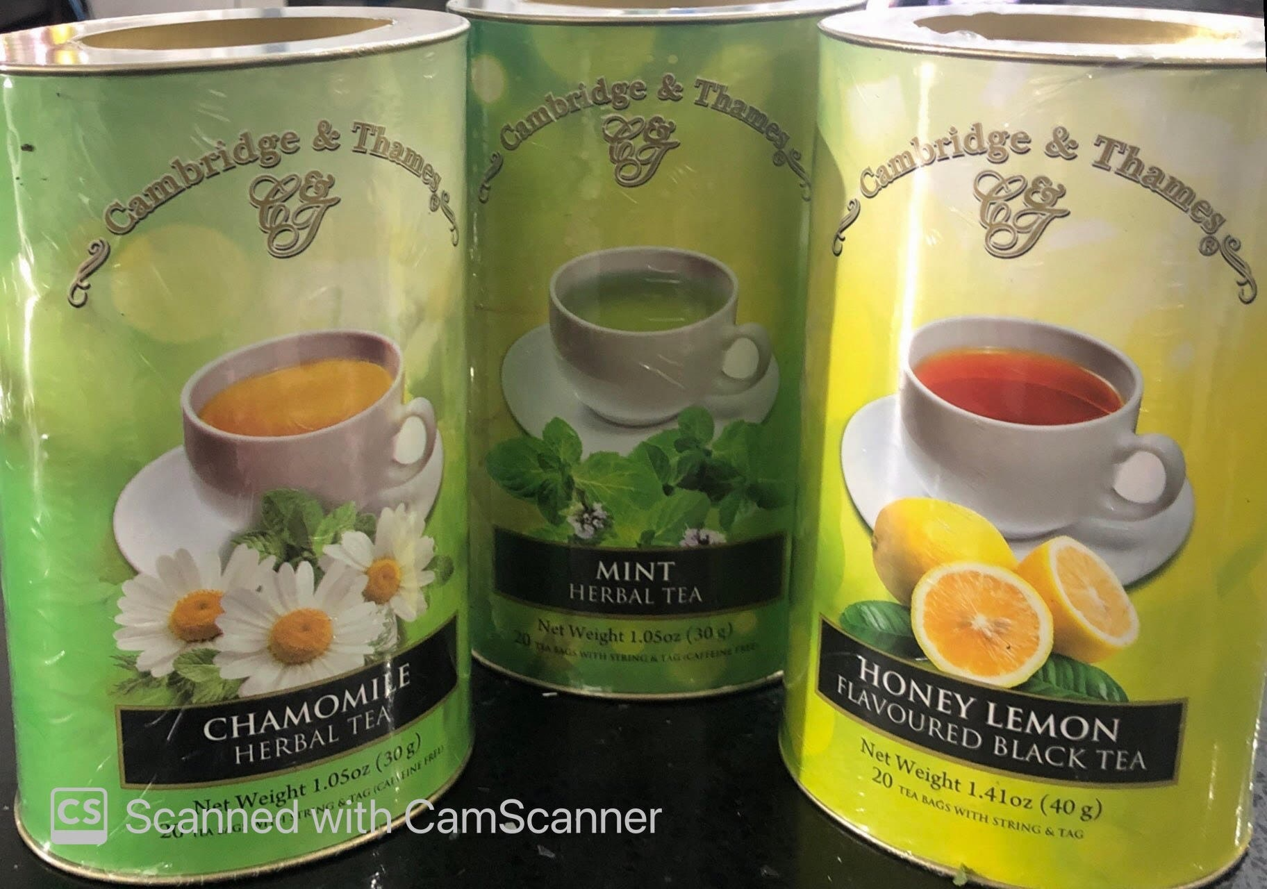 Cambridge & Thames Tea - 20 bags