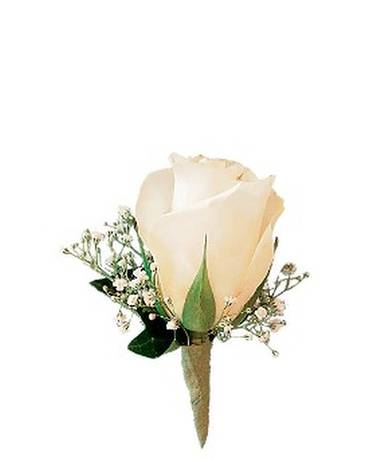 whitebout Boutonniere