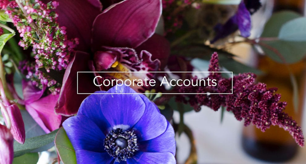 Boulder's local florist of choice offers attractive corporate accounts to local businesses.