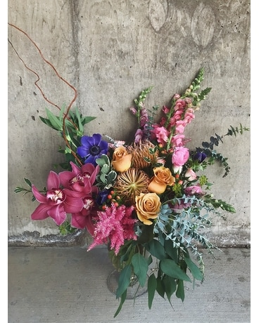 7:30 Sunset Flower Arrangement