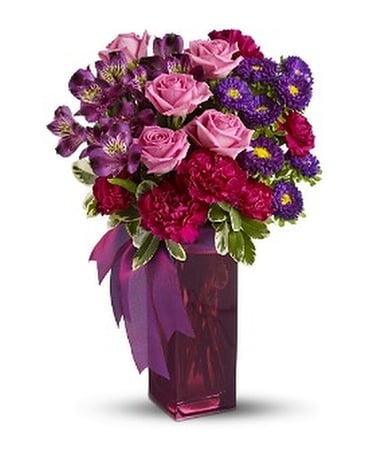Bunches of Blooms by Teleflora Flower Arrangement
