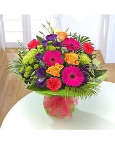 Rainbow Bouquet by Lovebird Flowers