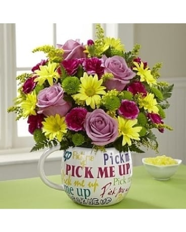 Pick Me Up Bouquet by Lovebird Flowers Flower Arrangement