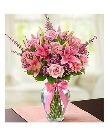 Ecstatic Pink by Lovebird Flowers Flower Arrangement