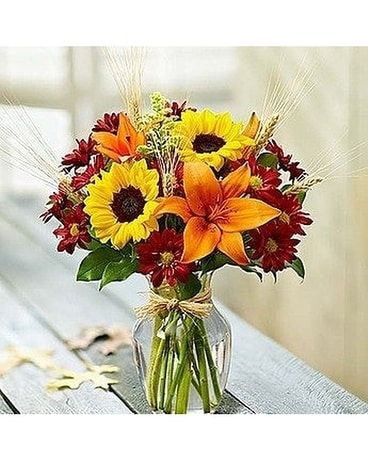 Bloomin' Fall by Lovebird Flowers