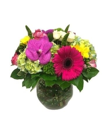 Birthday Treasure by Lovebird Flowers Flower Arrangement