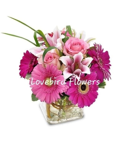 Full Recovery Soon by Lovebird Flowers Flower Arrangement