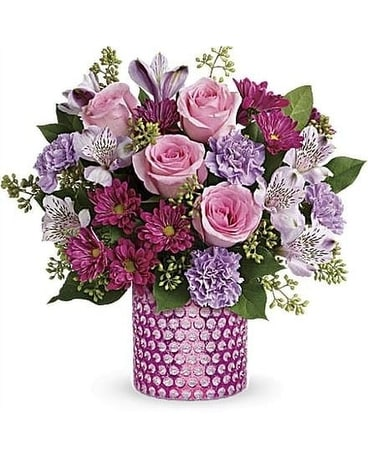 Perfectly Pink by Lovebird Flowers Flower Arrangement