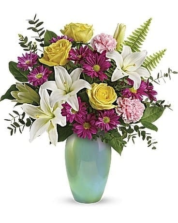 Raving Beauty by Lovebird Flowers Flower Arrangement