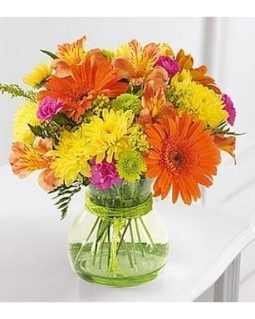 Send A Smile by Lovebird Flowers Flower Arrangement