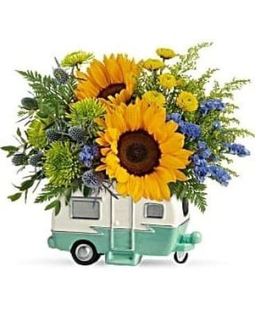 Happy Camper by Lovebird Flowers Flower Arrangement