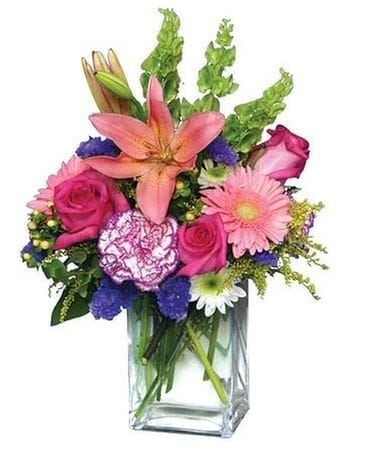 Mid Summer Bloom by Lovebird Flowers Flower Arrangement