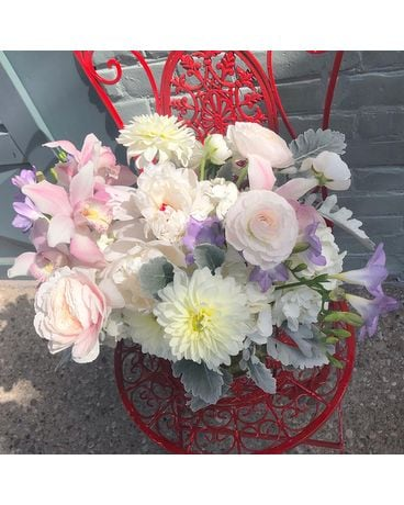 Perfect Pastel Flower Arrangement