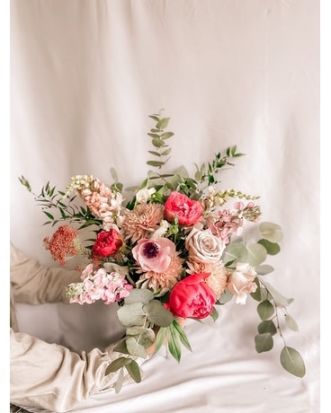 Brantford Blooms Mother's Day Handtied Flower Arrangement