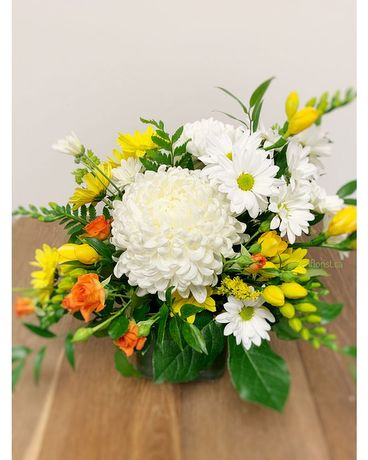 Touch of Warmth Flower Arrangement
