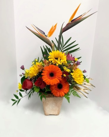 Paradise in the Sun Flower Arrangement