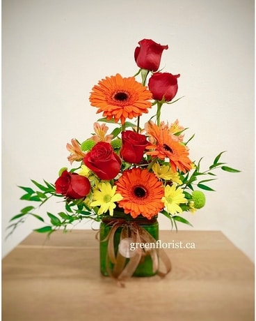 Brilliant Blooms Flower Arrangement