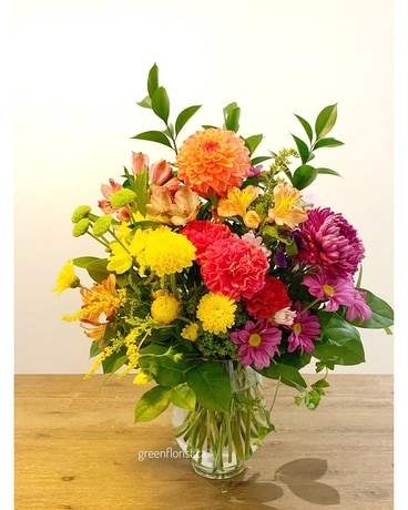 Best Wishes Flower Arrangement