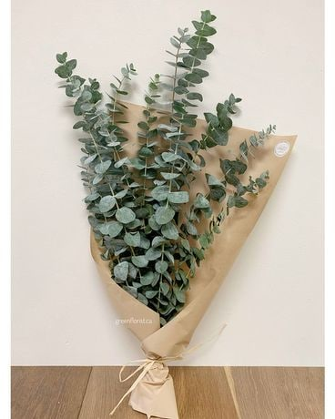Eucalyptus bundle Flower Arrangement
