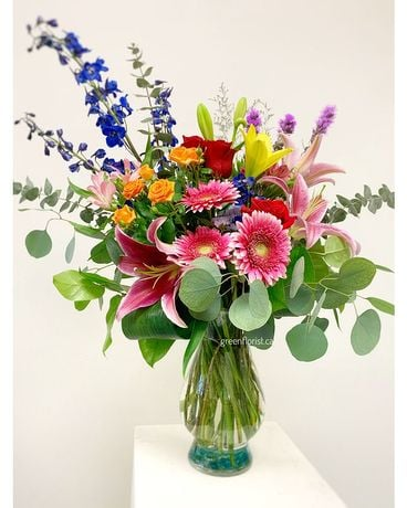 Rainbow Vibes Flower Arrangement