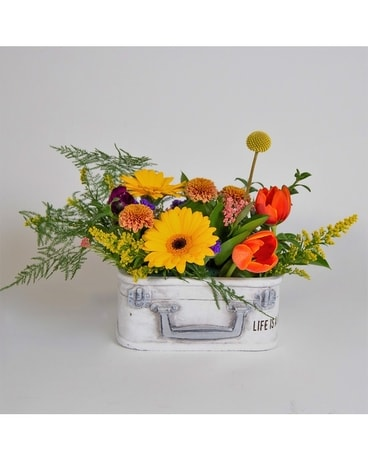 Life Is A Journey Flower Arrangement