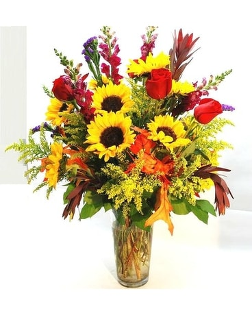 Autumn Symphony Flower Arrangement