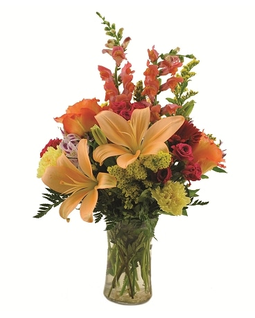 Best of Season Vase Flower Arrangement