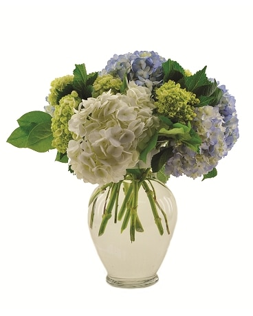 Hydrangea Garden Vase in Fort Worth, TX