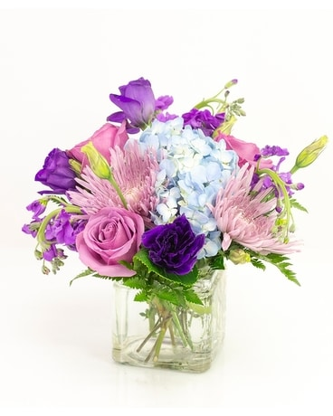 Purple Parade Flower Arrangement