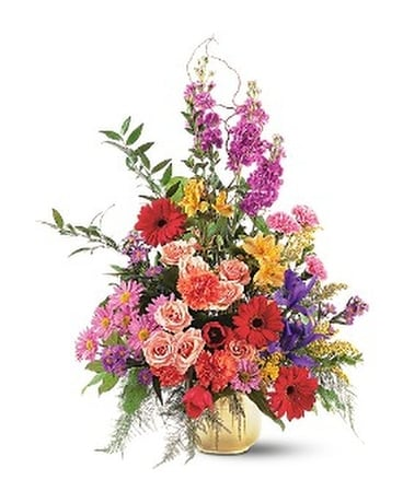 Colorful Comfort Flower Arrangement