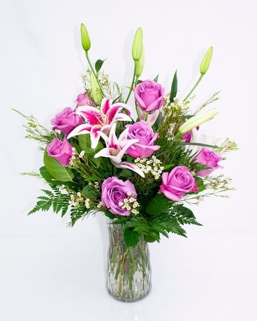 Lisa's Lilies Flower Arrangement