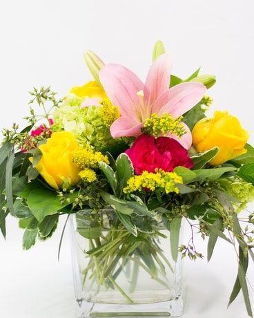 Summer Morning Flower Arrangement