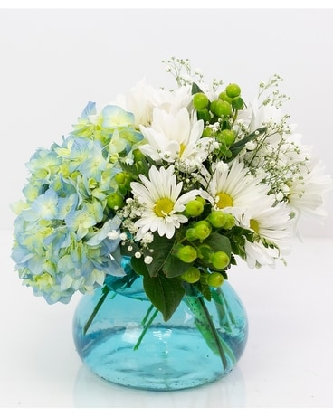 Welcome Baby Boy! Flower Arrangement