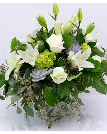 Modern Masterpiece Flower Arrangement