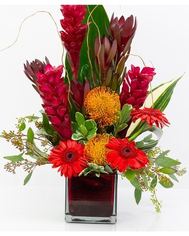 Maui Tropical Design Flower Arrangement