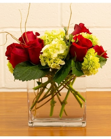Modern Romance Flower Arrangement