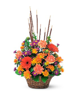 Fall Meadow Flower Arrangement