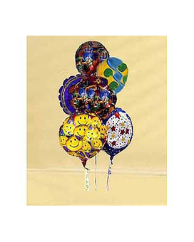 Mylar Balloon Bouquet Flower Arrangement