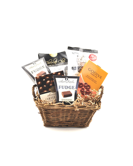 Chocolate Lover's Basket Gift Basket