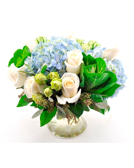 Blue Beauty Flower Arrangement